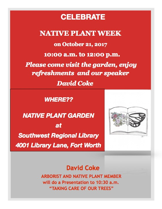 Native Plant Week