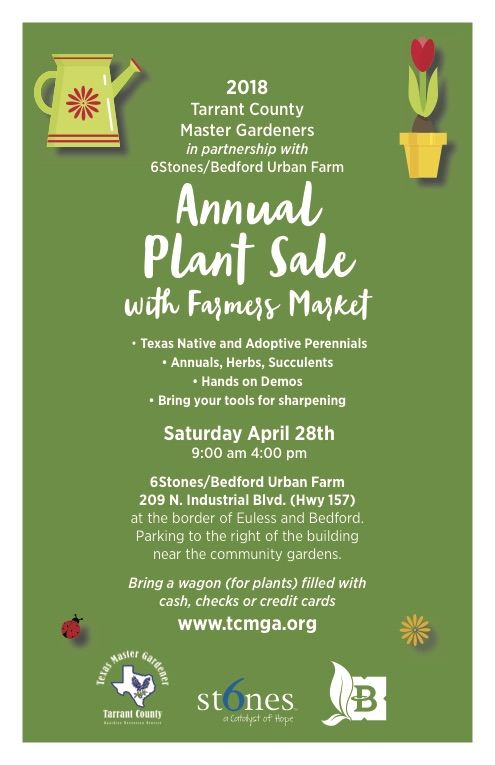 Annual Plant Sale with Farmers Market