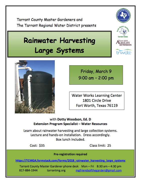 Rainwater Harvesting - Large Systems
